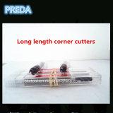 Coupeurs de fraisage faisants le coin sérieux du radius 4f de longue longueur de carbure de Preda