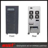 15kVA 12kw Online-Portaufsatz-Typ 3pH Input UPS-RS232
