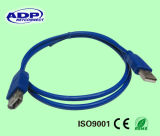 Atacado Blue / Black 3.0 Micro USB Cable 3.0 para Smartphone