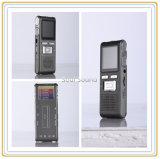 TFのカードが付いているデジタル音声のレコーダーの携帯用可聴周波サポートされるレコーダーおよびカメラ(ID8815)