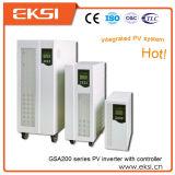 Fase monofásica de preço de fábrica fora do inversor solar da grade com controlador