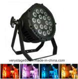 * Iluminación 10W Partido PAR LED RGBW exterior LED18