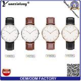 Nueva manera del reloj de la marca de fábrica de la alta calidad de los relojes de los hombres del cuarzo Yxl-660 y reloj de cuero de lujo ocasional elegantes