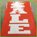 Bandeau publicitaire de rue de drapeau de câble de vinyle éclairé à contre-jour par Customed