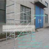 Andaime aprovado seguro do frame da escada do GV para a construção