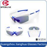 Esporte impermeável antiderrapante de ciclagem popular quente Eyewear das lentes de Revo dos óculos de sol das mulheres do Mens por atacado