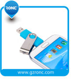 Подгоняйте ручки памяти USB логоса привод пер USB передвижной OTG внезапный