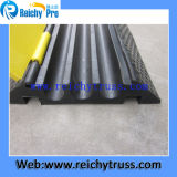 Three Channesl를 위한 코너 Cable Ramp Rubber