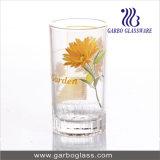 tazza di vetro dell'acqua stampata margherita 7oz