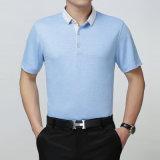 La chemise 100% de polo faite sur commande la meilleur marché de polyester de couleur et de logo