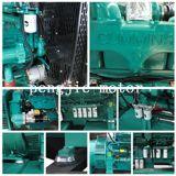 Tipo aperto approvato iso 120kw Genset diesel del Ce con il pannello di controllo di alto mare