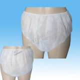 Nonwoven Hospital Medical Cuecas descartáveis, SPA descartáveis ​​Underwear Panties Tanga