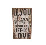 знаки металлической пластинкы стены письма нестандартной конструкции 40*80cm деревянные