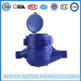 Счетчик воды Multi двигателя Dn15mm холодный счетчика воды пластмассы ABS