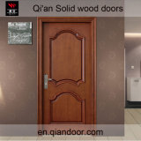 검은 호두나무 단단한 나무 안쪽 문
