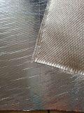 Tissu de fibre de verre de papier d'aluminium pour l'isolation thermique