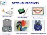 Silla dental económica del nuevo diseño con la lámpara de la operación (Kj-917)
