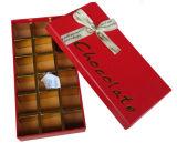 Presente especial do chocolate do projeto que empacota a caixa articulada