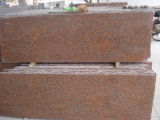 La tuile de granit du rouge la meilleur marché G562, revêtement de sol de granit