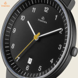 Zilveren Horloge 72345 van het Kwarts van de Analoge Vertoning van het Netwerk van mensen Klassiek Japans