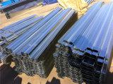 Folhas onduladas do Decking do assoalho para o material de construção de aço elevado