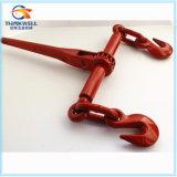 Стандартный красный выкованный тип связыватель рукоятки стали углерода L-150 нагрузки