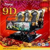 Zhuoyuan Hydraulic/Electric 7D Cinema Interactive multijugador Games