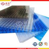 Dach-Gewächshaus Polycarbonat gewelltes geprägtes PC Blatt-Plastikbaumaterial