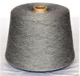 Tela de la alfombra/lanas de los yacs del ganchillo de la materia textil que hacen punto/hilado blanco natural de las lanas de las Tíbet-Ovejas