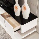 Hohes glattes MDF+Glass Spitzen-Fernsehapparat-Standplatz &Cabinet (TV028)