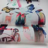 Tessuto di tessile stampato disegno animale della casa del tessuto dell'indumento del Organza