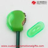 Пластичная точилка для карандашей руководства круглой формы зеленого цвета