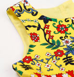 아이들 옷을%s 가진 아이들 Frock에 있는 형식 면 꽃파는 아가씨 복장