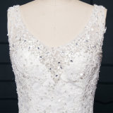 Tulle Lace Beads Real Photos Mermaid Wedding Dresses (TM-MS002)