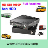 GPS Tracking 3G 4G WiFiのTruck DVR Recorderの完全なHD 1080P 4/8 Channel