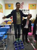 Silla amontonable colorida plástica de la escuela del nuevo estilo para la venta