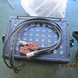 La IGUALDAD de interior de la etapa de RGBW 54X3w LED puede con los obturadores
