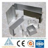 El aluminio sacó perfil para la decoración de aluminio de los muebles que bordeaba