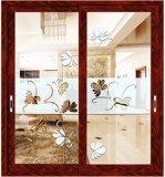 Guichet en aluminium populaire de tissu pour rideaux de Feelingtop avec l'enduit blanc de poudre