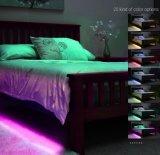 Streifen-Bett-Installationssatz-Bewegungs-Fühler-Infrarotlampe RGB-LED für Schlafzimmer mit wasserdichtem flexiblem Lamp/3 SchlüsselDimmable entfernt
