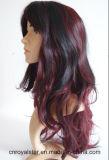 Женский парик синтетики празднества волос шаржа способа