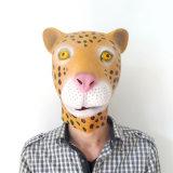 Máscara animal realística principal cheia do horror do látex de Halloween da alta qualidade