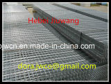 Hebei Anping acero profesional fabricante del material de rejilla de acero galvanizado rejilla de acero