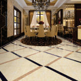 Foshan Cina Polished Porcelain Tile Ceramic con Black
