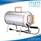 Gril électrique de BBQ de fumeur en gros d'acier inoxydable