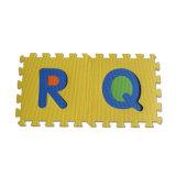 Stuoie del pavimento di puzzle del puzzle della gomma piuma di EVA di alfabeto di Kamiqi dei Anti-Batteri per i capretti