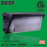 2015 Dlc ETL cETL Meanwell Driver Waterproof 60W Wall Pack Photocell