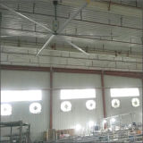 Ventilador de teto industrial sem fio esperto do Gearmotor sem escova da C.C. de Hvls (high-volume, baixo - velocidade)