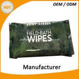 10PCS терпеливейшие намочили Wipes для тела чистки