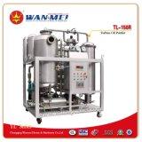 専門のタービンオイルのろ過プラント強い排水するか、またはガスを抜く能力(TL-75)